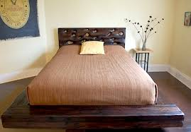 reclaimed and salvaged wood beds by moderndrift the alternative