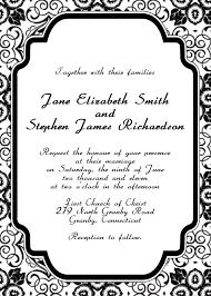 invitations templates word eliolera com