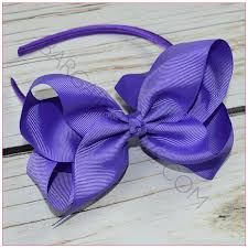 bow headbands headband 6 inch solid hair bow bargain bows