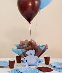 teddy centerpieces for baby shower brown blue baby shower decorations teddy baby shower