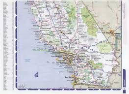 State Map Of California by California Usa Map Cities California Map