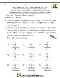 subtraction worksheets year 4 kelpies
