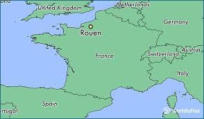 map of rouen where is rouen rouen normandy map worldatlas