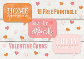 free valentines cards free s day printables hootinvitations au