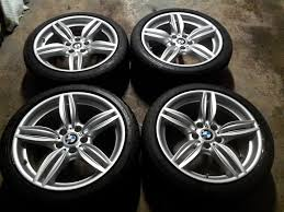 bmw staggered wheels and tires used 19 351m oem bmw staggered wheels with tires 5series