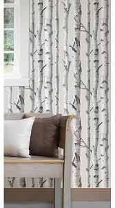 birch tree peel and stick wallpaper amazon com