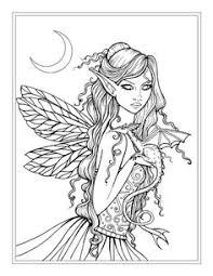 gothic fairies coloring pages coloring pages