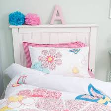Children S Duvet Cover Sets Childrens Daisy Floral Cot Bed Duvet Cover Set