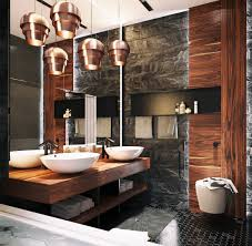 applying 3 types gorgeous bathroom decor which combine with