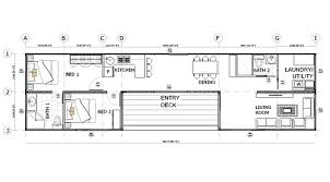 2 bedroom home floor plans shipping container home floorplans