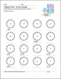 free worksheets time worksheets to the nearest minute free
