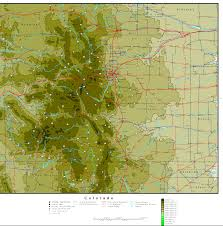 Map Of Colorado Cities topographical map of colorado you can see a map of many places