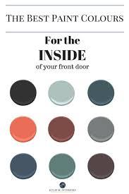 best paint for front door the best colours to paint the inside of your front door benjamin