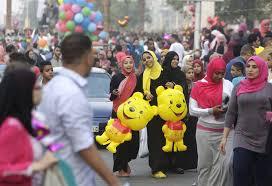 muslims around the world celebrate eid al fitr al jazeera