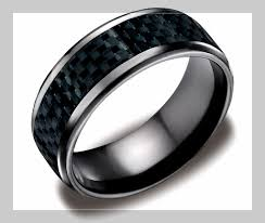 men in black wedding band wedding ring black tungsten wedding bands 8mm black diamond