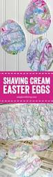 shaving cream painted easter eggs shaving cream painting cream