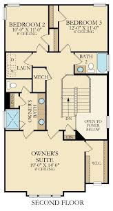 The Lenox Floor Plan Lenox New Home Plan In Creekside At Twin Creeks By Lennar
