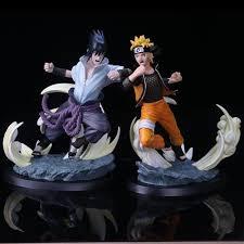 sasuke vs sasuke vs figure statue otakuplan