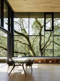 Nature Room Interior Design Nature Drove The Design Of This Sculptural Cor Ten Steel House In