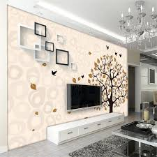 Wallpaper Livingroom by Online Get Cheap Wallpaper Livingroom Flowers Aliexpress Com