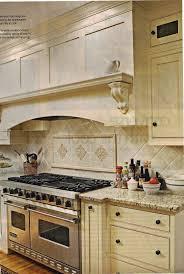 Kitchen Nice Brick Backsplash In Kitchen With White Cabinet And - Kitchen backsplash ideas with cream cabinets