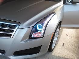 cadillac ats headlights opened headlights and added led