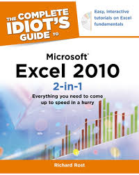 the complete idiot u0027s guide to microsoft excel 2010 2 in 1