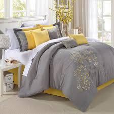 grey bedroom walls yellow and grey bedroom and wall mounted white wardrobe bedroom