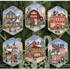 dimensions ornaments cross stitch kit 8785