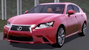 pink lexus fresh prince creations sims 3 2013 lexus gs 350 f sport