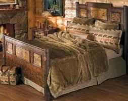 cedar log bed wild wings