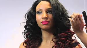 dyed weave hairstyles brazilian hair dip dyed red using brazilian hair and peruvian