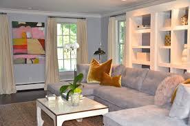 Grey Livingroom Fascinating 60 Blue Green Gray Living Room Design Ideas Of 25