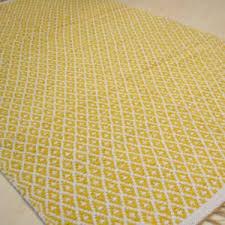 Yellow Circle Rug Cotton Braided Circle Rug Rugsite