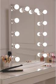 Bedroom Light Bulbs by Light Bulb Vanity Mirror With Light Bulbs Around It Rectangle