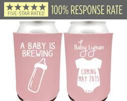baby shower koozies baby shower koozies etsy