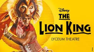 lion king book visitbritain