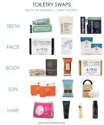 travel toiletries images Travel tip toiletry swaps hitha on the go png