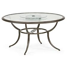 Patio Chair And Table by Jaclyn Smith Cora Dining Table With Lazy Susan Outdoor Living