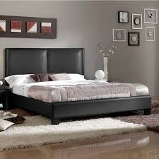 Modern Platform Bed Contemporary Faux Leather Platform Bed By Baxton Studio Free
