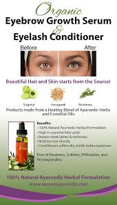 amazon com eyebrow growth serum our 1 ayurveda herbal serum