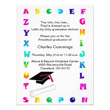 preschool graduation invitations personalized kindergarten graduation invitations