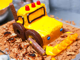 how to make an excavator cake 7 steps with pictures wikihow