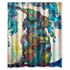 Cynthia Rowley Curtain 13 Elephant Shower Curtains You U0027ll Never Forget Offbeat Home U0026 Life
