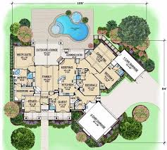 large luxury home plans 142 best house plans images on house plans