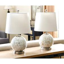 Bedside Table Lamps Mother Of Pearl Table Lamps Mother Of Pearl Mini Round Table Lamp