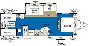 Outback Campers Floor Plans 3 Bedroom Travel Trailer Floor Plan U2013 Home Plans Ideas