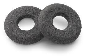 20 foam doughnut ear cushion for plantronics supraplus hw251