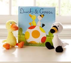 Pottery Barn Kids Books Duck U0026 Goose Book U0026 Plush Set Pottery Barn Kids