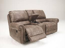 Westwood Comfort Furniture Westwood 3pcs Modern Rustic Microfiber Recliner Sofa Couch Set